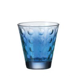 Szklanka niska OPTIC niebieska 220 ml - Leonardo