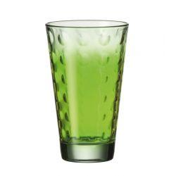 Szklanka wysoka OPTIC zielona 300 ml - Leonardo