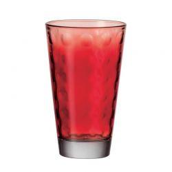 LO - Szklanka 0,25l czerwona OPTIC