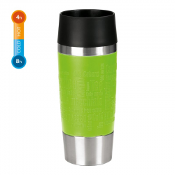 Kubek termiczny Travel Mug, 0,36 L, limonkowy - EMSA