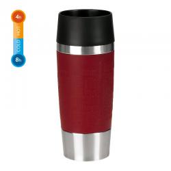 Kubek termiczny Travel Mug, 0,36 L, czerwony - EMSA