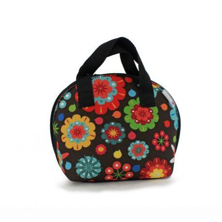 Lunch bag Flower Power, Smartsoft Rubber - SmartLunch