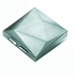 Pojemnik na drobiazgi srebrny, matowy - PO Selected