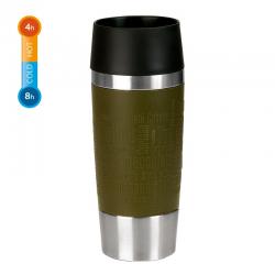 Kubek termiczny Travel Mug, 0,36 L, ciemnozielony - EMSA