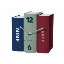 Zegar stołowy Book contradiction paper b