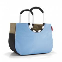 Torba loopshopper L patchwork pastel blue - Reisenthel