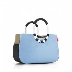 Torba loopshopper M patchwork pastel blue - Reisenthel