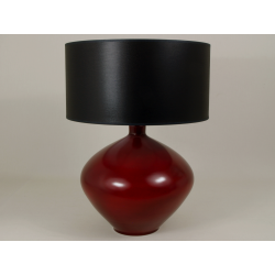 Lampa stołowa LUCIA czerwona 40x56cm [AZ01360] - ENVY