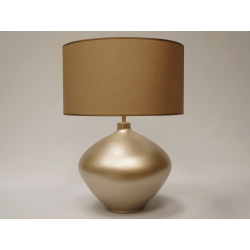 Lampa stołowa LUCIA złota 42x56cm [AZ02074] - ENVY