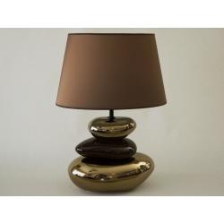 Lampa stołowa KEIKO złoto brązowa 40x27x58cm [AZ01093]