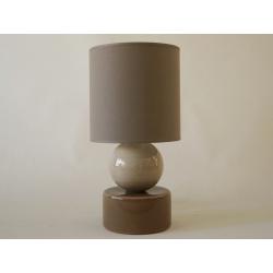 Lampka nocna PERLA I beżowa 20x39cm - ENVY