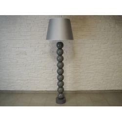 Lampa podłogowa PERLA IX szara 55x170cm