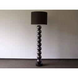 Lampa podłogowa PERLA IX brązowa 50x170cm