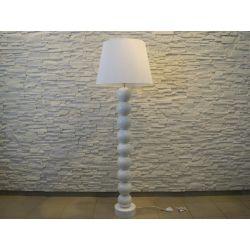 Lampa podłogowa PERLA IX biała 55x170cm