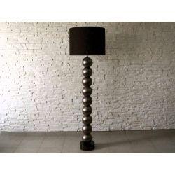 Lampa podłogowa PERLA IX CY ciemne złoto 50x170cm