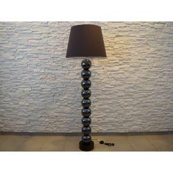 Lampa podłogowa PERLA IX brązowa 55x170cm [AZ02178]