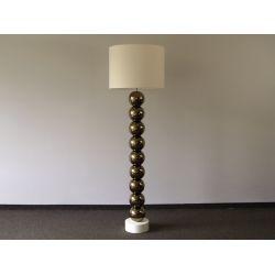 Lampa podłogowa PERLA IX złota 50x170cm