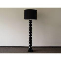 Lampa podłogowa PERLA IX czarna 50x170cm