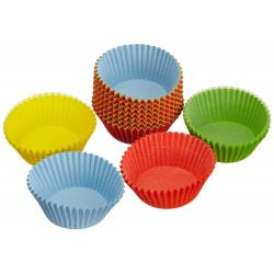 Zestaw papilotek do muffinek Muffin World 150 szt. 7 cm (kolorowe) – KAISER