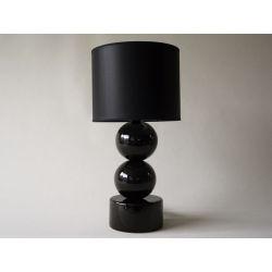 Lampka nocna PERLA II czarna 25x51cm
