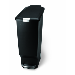 Kosz pedałowy SLIM 40L - czarny - SIMPLEHUMAN