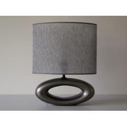 Lampka nocna OYE, ciemne srebro, 31x18x38 cm