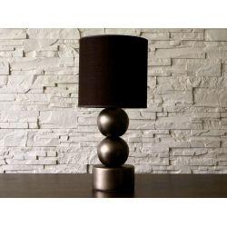 Lampka nocna PERLA II ciemne złoto 25x56