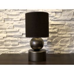 Lampka nocna PERLA I ciemne złoto 20x39cm - ENVY