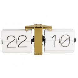 Zegar stołowo/ścienny Flip No Case white
