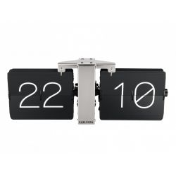 Zegar stołowo/ścienny Flip No Case black