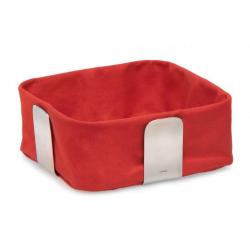 Koszyk na pieczywo Desa (L-25,5 cm) czerwony - BLOMUS