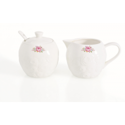 Cukierniczka i dzbanek na mleko do kawy 1251 DERO - Nuova R2S