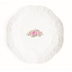 Zestaw talerzy 4 szt. z porcelany, 1254 DERO - NUOVA R2S