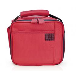 Mini lunchbox DECO VICHY, czerwony - IRIS