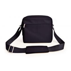 Lunch Bag - Męska torba na ramię Urban, czarna - Iris