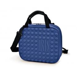 Lunch Bag TWIN BAG niebieski - Iris