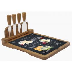 Deska do serów z nożami 4 szt. 816 WOCH - Nuova R2S