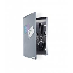 Magnetyczna skrzynka na klucze Velio, szare szkło - Blomus