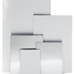 Tablica magnetyczna Muro L gładka, stal matowa, 60 x 90 cm - BLOMUS