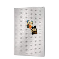 Tablica magnetyczna Muro L, stal matowa perforowana, 60 x 90 cm - BLOMUS
