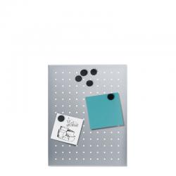 Tablica magnetyczna Muro XS, stal matowa perforowana, 30 x 40 cm - BLOMUS