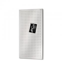 Tablica magnetyczna Muro XXL, stal matowa perforowana, 40 x 80 cm - BLOMUS