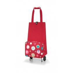 Wózek na zakupy foldabletrolley funky dots 2 - Reisenthel