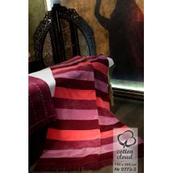 Koc bawełniano-akrylowy (0773-2), 150 x 200 cm