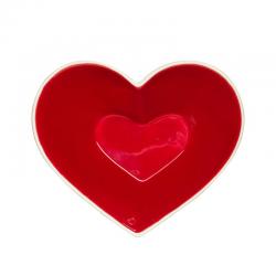 Miska ceramiczna serce - SAGAFORM