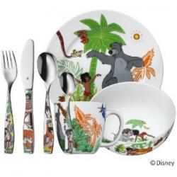 Zestaw 7- częściowy dla dzieci Księga Dżungli - WMF