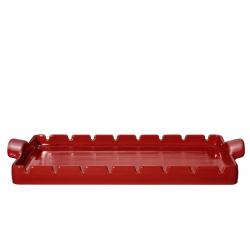 Kamień grillowy - czerwony - Emile Henry