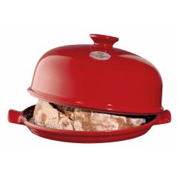 Klosz piekarniczy do chleba - czerwony - Emile Henry