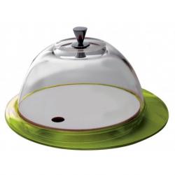 Patera z kopułą Glamour zielona - BUGATTI