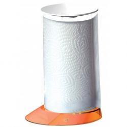 Stojak na ręczniki papierowe Glamour pomarańczowy - BUGATTI